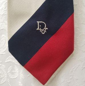 Vintage Patriotic Dior Tie